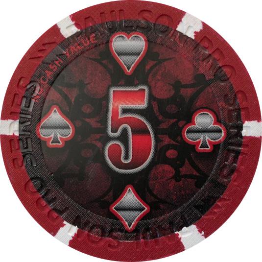 Paulson Pro Series Poker Chips
