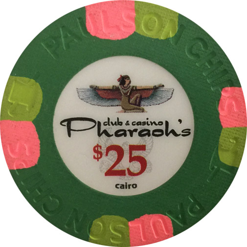 Pharaoh's Casino Paulson Poker Chip