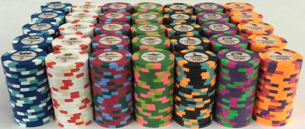 Pharaoh's Casino Paulson Poker Chips