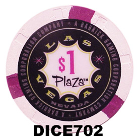 Plaza $1 Las Vegas Casino Chip
