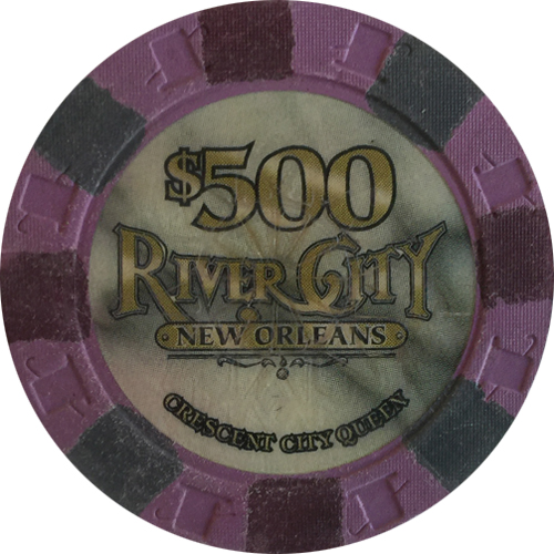 River City Casino Paulson Poker Chips