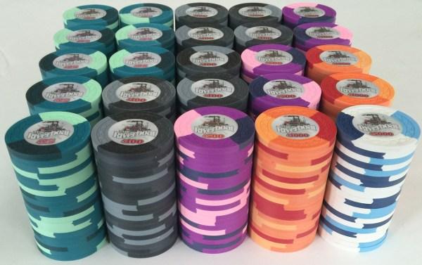 Riverboat Blue Chip Poker Chips