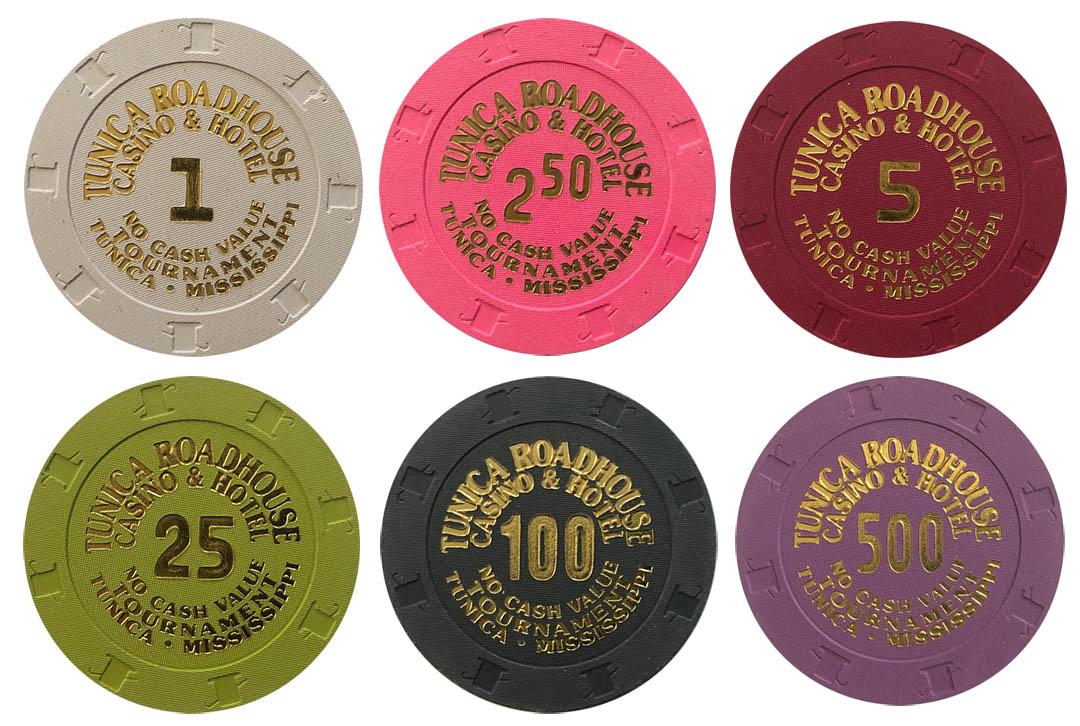 Roadhouse Casino Tournament Paulson Poker Chips