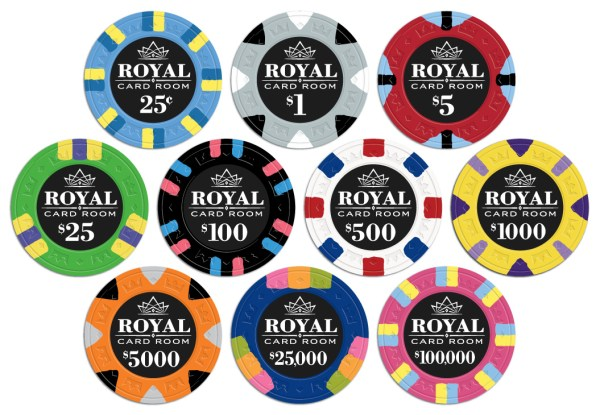 Royal Poker Chips