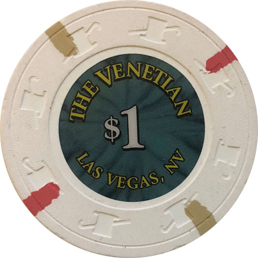 $1 Venetian Las Vegas Casino Chip