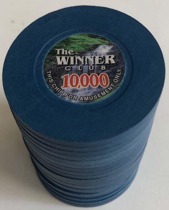 Winner Club $10,000 Casino Chips