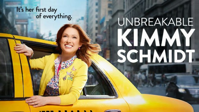 REVIEW TV SERIES : UNBREAKABLE KIMMY SCHMIDT (NETFLIX)