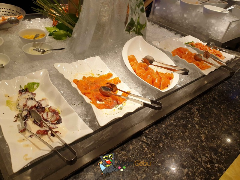 Sunday Brunch : Feast, Royal Orchid Sheraton Bangkok - Seafood Station