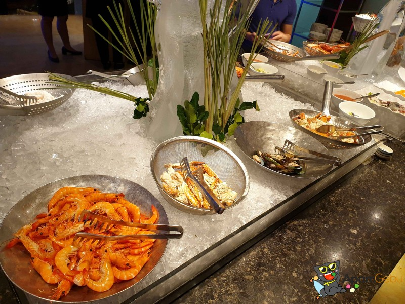 Sunday Brunch : Feast, Royal Orchid Sheraton Bangkok - Seafood Station