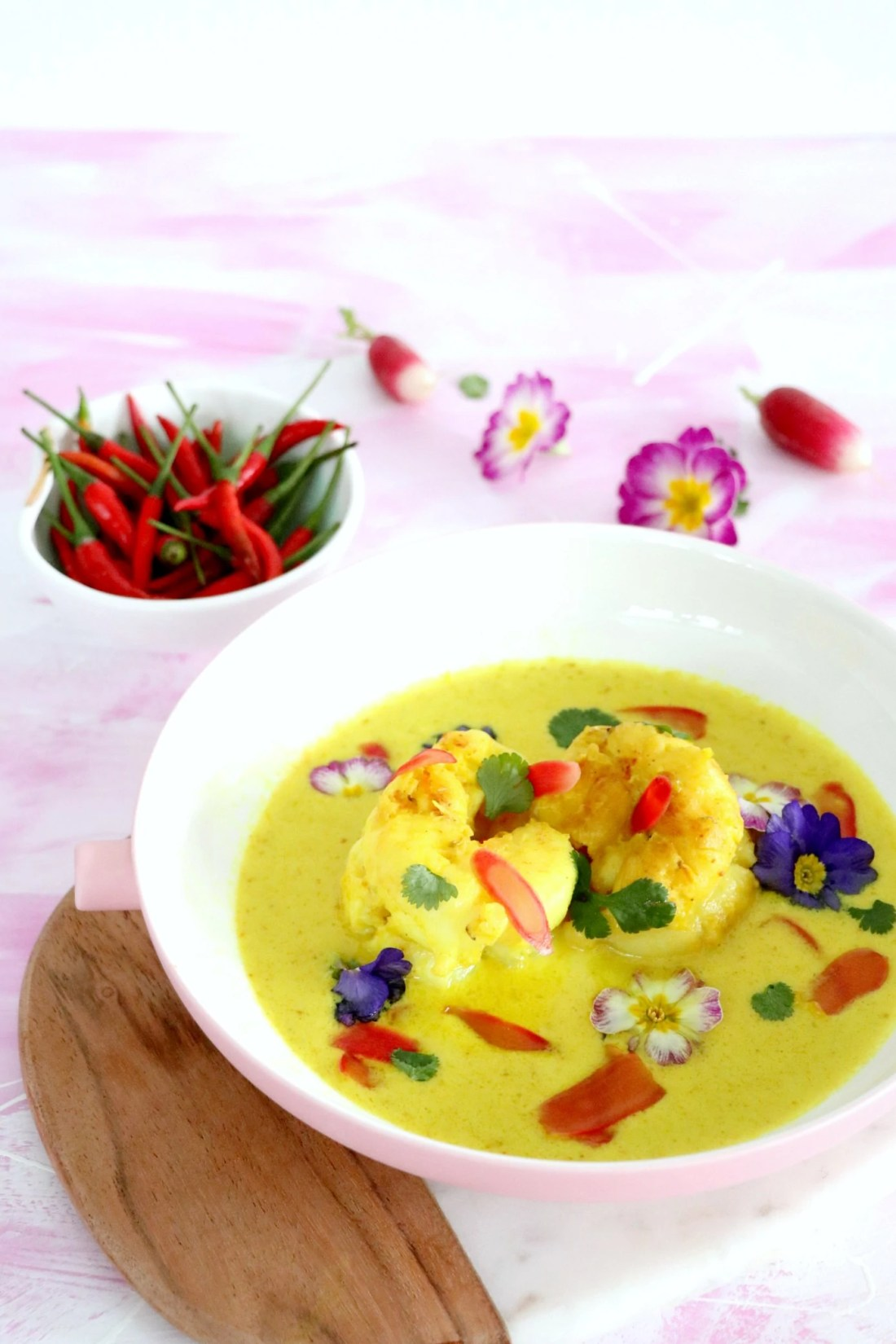 lobster yellow curry