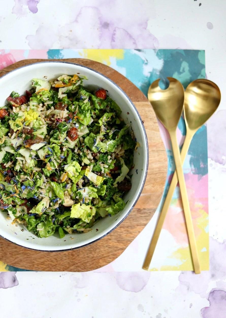 Duck breast and Wild Rice Salad (Salade de Magret du Canard et Son Mélange de Trois Riz)