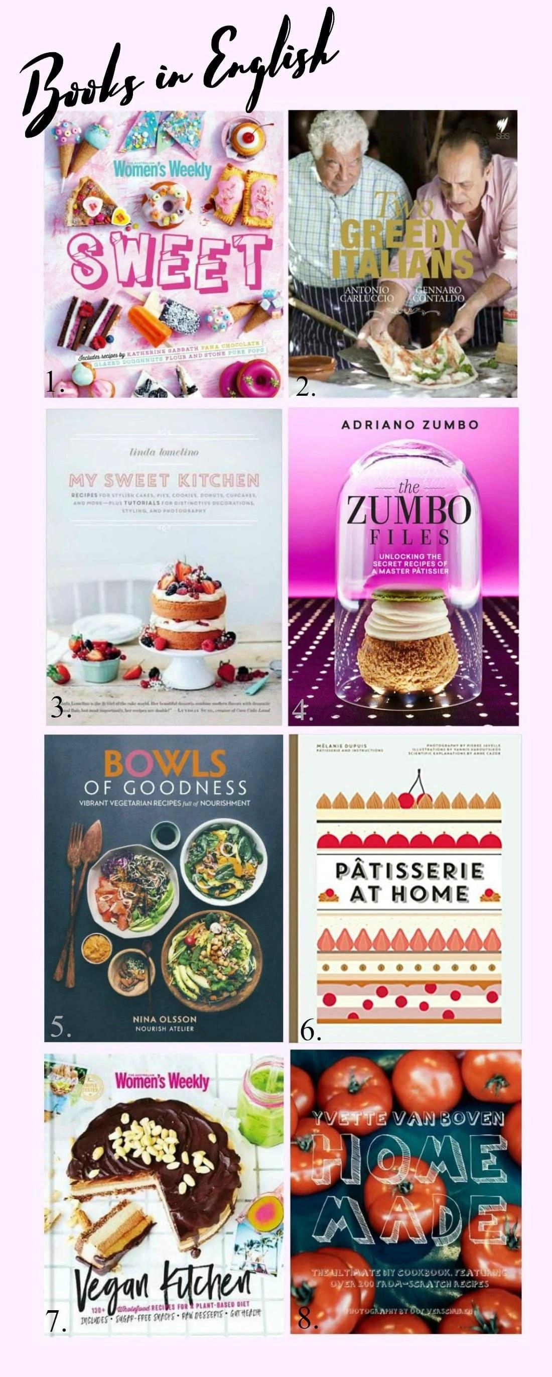 8 Cookbooks I Swear By (Chelsea Le Meilleur Pâtissier)