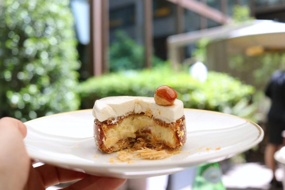 Dessert at the Mandarin Oriental, Paris