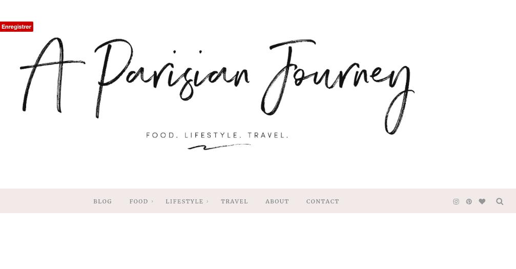 Un nouveau Look pour A Parisian Journey!