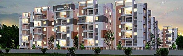 2/3 BHK Gated Community Apartments in Kompally | Aparna