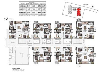 maple building 1 ground floor plan