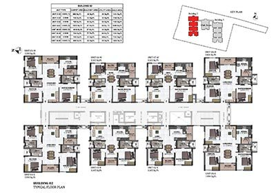 Building 2 typical floor plan