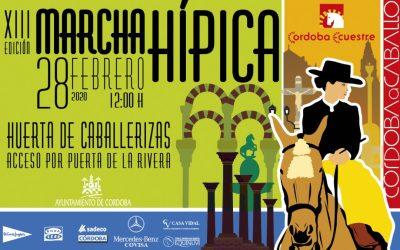 Marcha hípica para el día de Andalucía