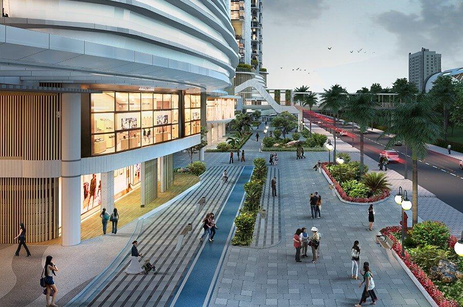 Fasilitas - Apartemen, LRT City Ciracas - Pedestrian