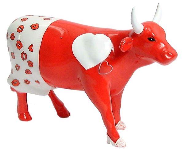 loving cow