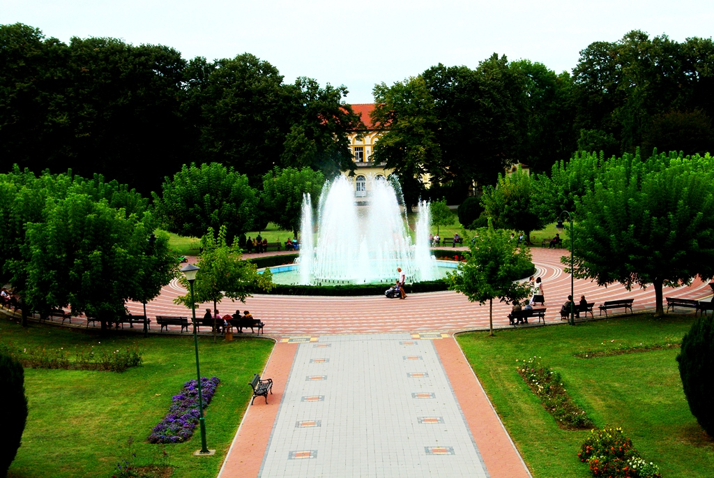 Fontana - banjski park