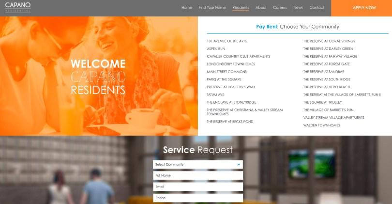 Integrations for Property Management Websites