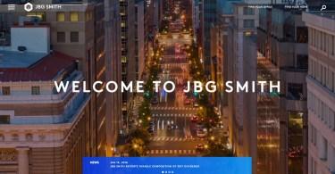 Property Management Website Design Example