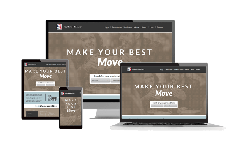 Responsive Design Website Property Management