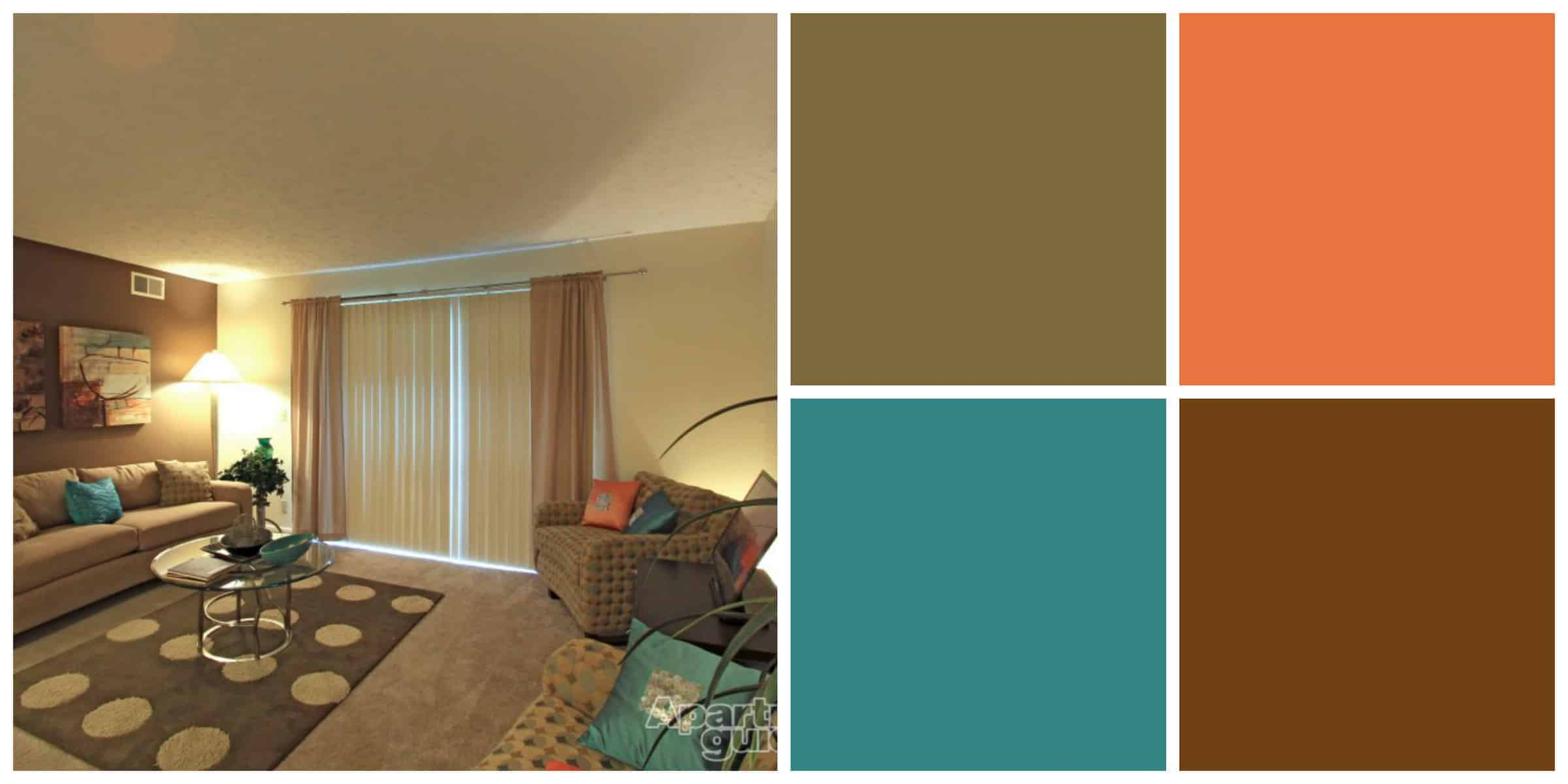 Warm earth tone colors for living room. apartments glamorous earth ...
