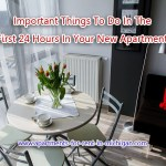 Important Things To Do In The First 24 Hours in Your New Apartment