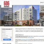 Metro apartment website design
