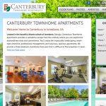 Pop apartment website design