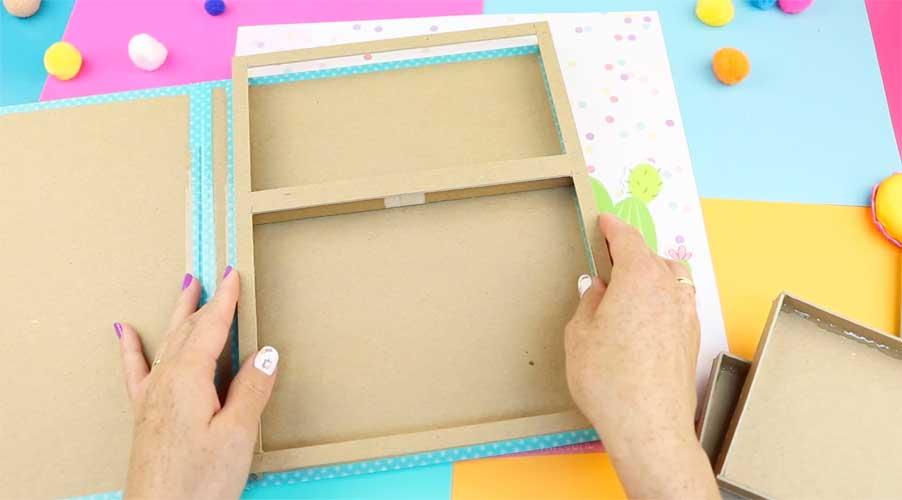 cardboard folder