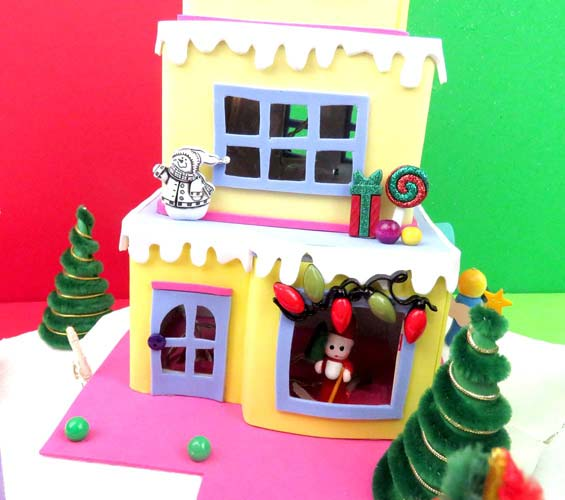 adornos de navidad en foami patrones