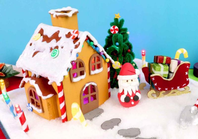 decoracion para navidad en foami