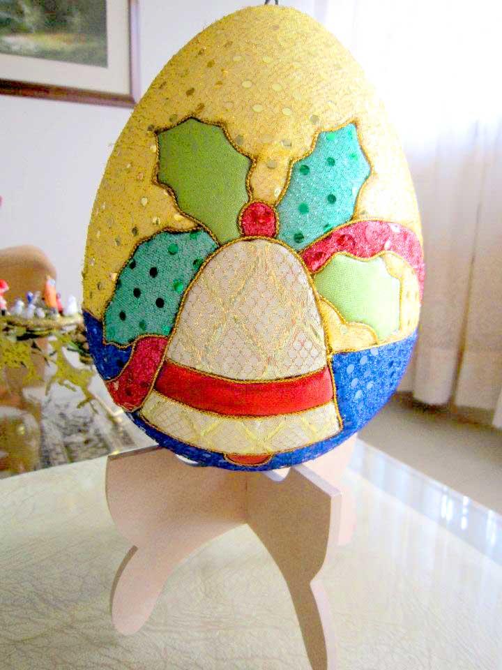 huevo de pascua para navidad
