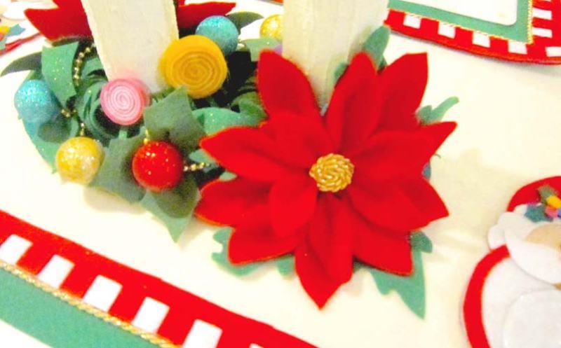 manualidades de navidad en fieltro patrones