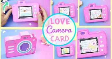 LOVE CAMERA CARD – Valentin's Day DIY