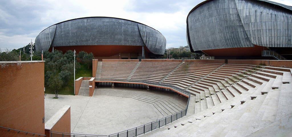 Auditorium Parco Della Musica - progettato da Renzo Piano