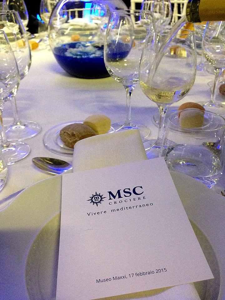 Nella splendida cornice del MAXXi si possono organizzare eventi, convegni,cene private...grazie Msc!
