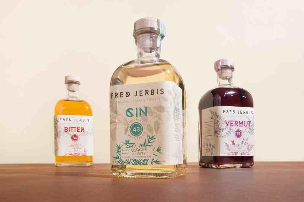Gin vermut bitter Fred Jerbis