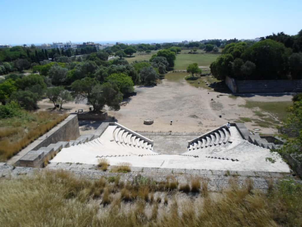 rodi, acropoli, grecia