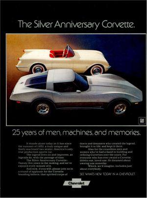 1978 Advertisements | 1973 & 1978 Corvette