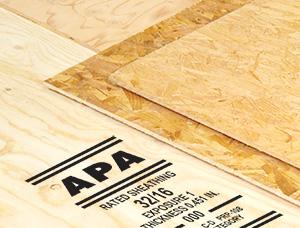 APA panels with trademark