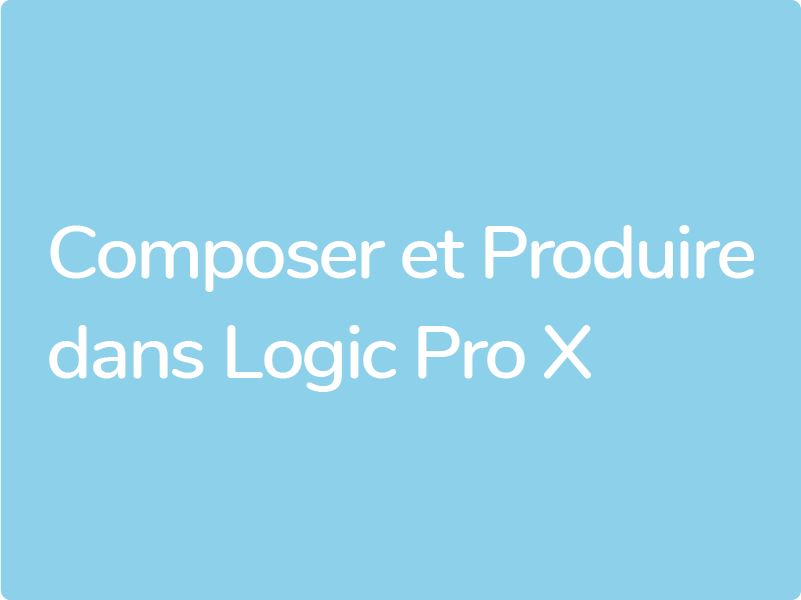 Formations Logic Pro X