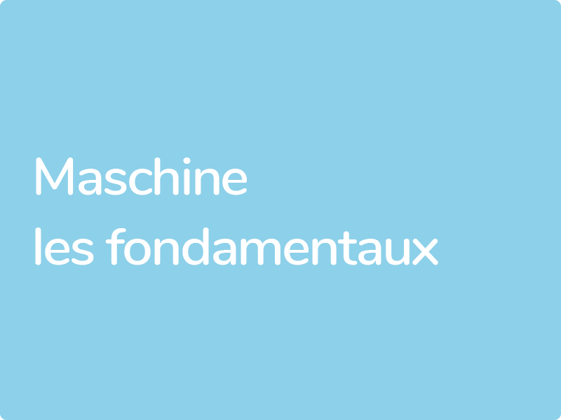 Formation Maschine Native Instruments conventionnées Afdas