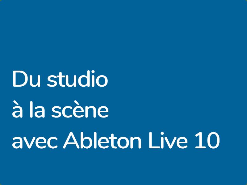 Formation Ableton Live 10 certifiée avec Krazy Baldhead