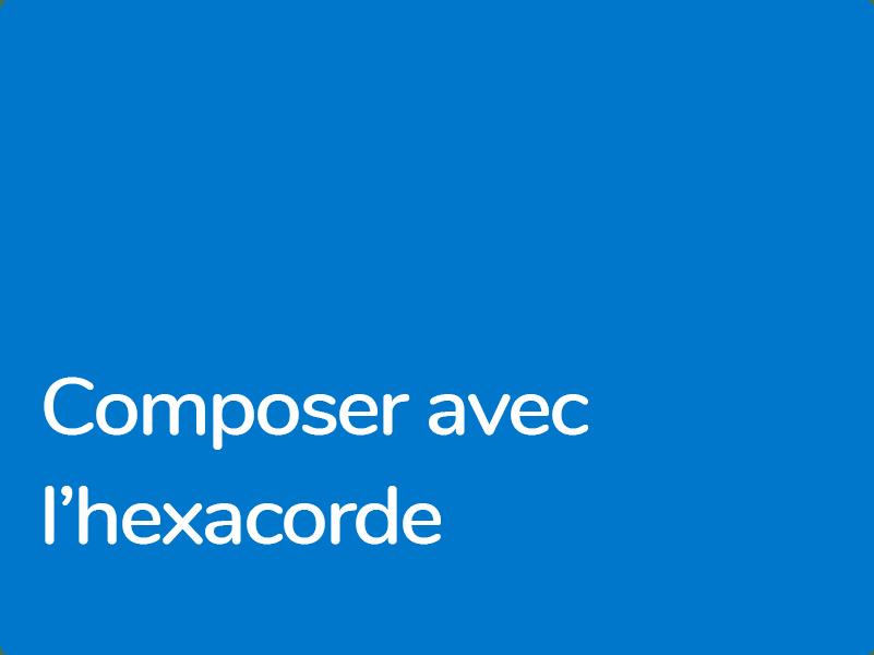 Formation Hexacorde et Environnement harmonique pour compositeurs de musique de film confirmés