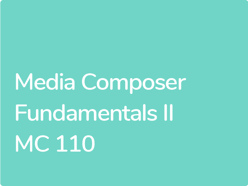 Certification AVID Media Composer Professionnel Certifié