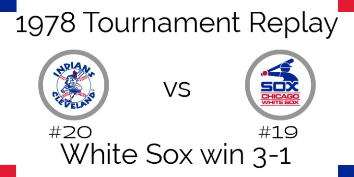 1978 Tournament Results – White Sox beat Indians 3 games to 1